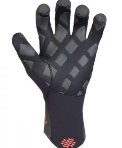 on 3/2mm neoprene wetsuit glove